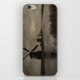 Windmills at Kinderdijk Holland iPhone Skin