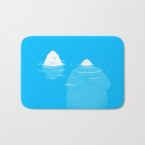 The Tip Of The Iceberg Bath Mat