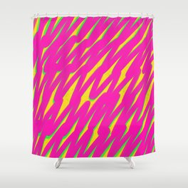 Grell-001 / 90's Throwback Pattern Shower Curtain