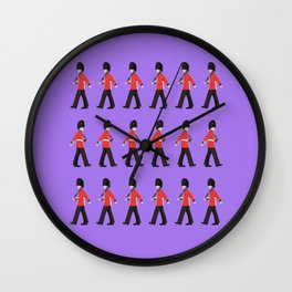 Queens Guard Marching Wall Clock