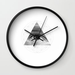 The All Seeing Eye of Life Wall Clock