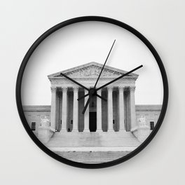 United States Supreme Court Wall Clock