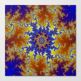 Fractal Checkerboard Canvas Print