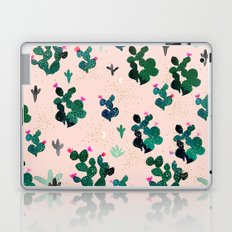 Cactus Desert Pink Dusk Moon Laptop & iPad Skin