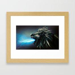 L1-0N Framed Art Print
