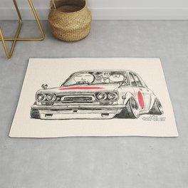 Crazy Car Art 0173 Rug