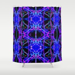 Bright Lights and City Nights Shower Curtain