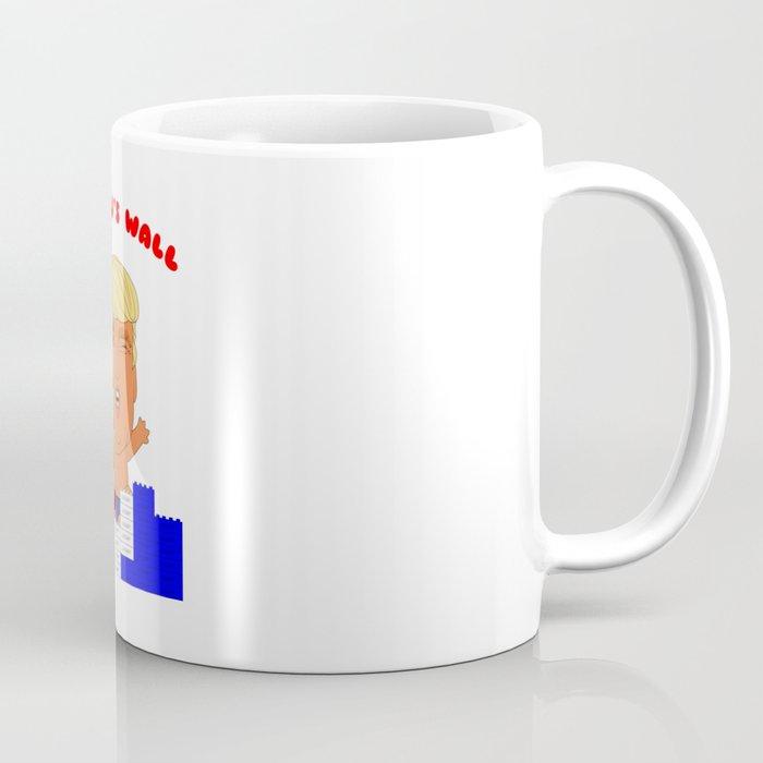 Donald's Wall Coffee Mug