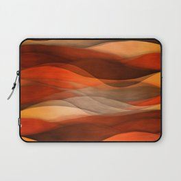 """Sea of sand and caramel waves"" Laptop Sleeve"