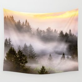 Misty Mount Tamalpais State Park Wall Tapestry