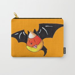 Candy Corn Bat Carry-All Pouch