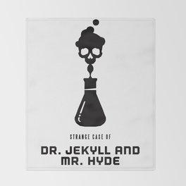 A Century of Horror Classics :: Strange Case of Dr. Jekyll & Mr. Hyde Throw Blanket