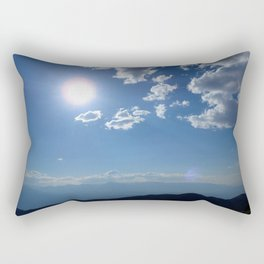 California into Nevada view Rectangular Pillow