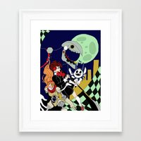 persona Framed Art Prints featuring Persona by Gwen