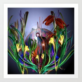Red Tulips Art Print