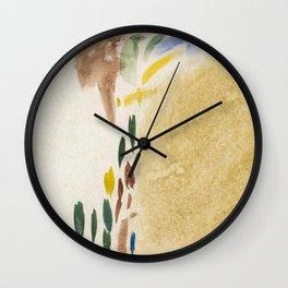 Studies Johanna van de Kamer (c1890 -c1922) painting in high resolution by Johanna van de Kamer Wall Clock