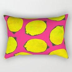 Lemon pattern Rectangular Pillow
