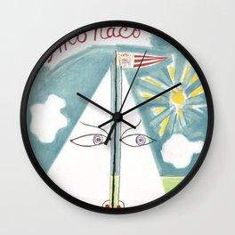 Jean Cocteau Monaco 1959 Wall Clock