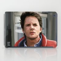 mcfly iPad Cases featuring Marty McFly by Kaysiell
