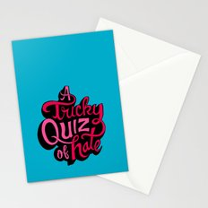 Quiz of Hate Stationery Cards