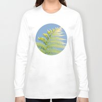 fern Long Sleeve T-shirts featuring Fern by Pati Designs
