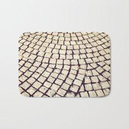 cobblestone pathway Bath Mat