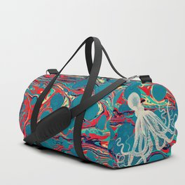 Vintage Octopus Duffle Bag