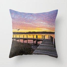 Sunset Impressions Throw Pillow