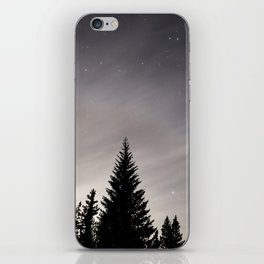 Trees by Night iPhone Skin