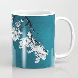 white blossoms Coffee Mug