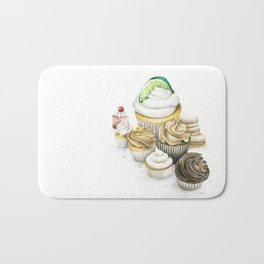 Sweet Energy Cupcakes Bath Mat
