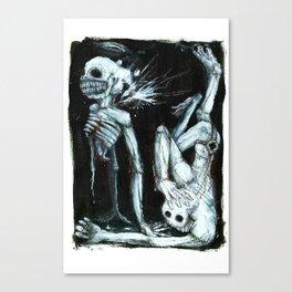 Shivers Canvas Print
