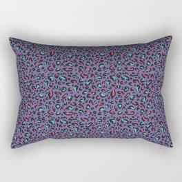 Ultra Violet Leopard Signature Andreiaqua Rectangular Pillow
