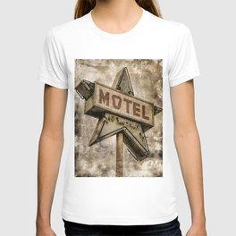 Vntage Grunge Star Motel Sign T-shirt