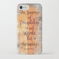 friendship iPhone & iPod Cases featuring Friendship by LebensART