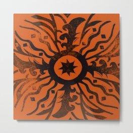 Sundial Focus Metal Print