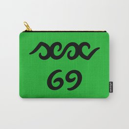 Funny sex 69 ambigram Carry-All Pouch