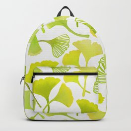 First Day of Autumn Ginkgo Leaves Backpack