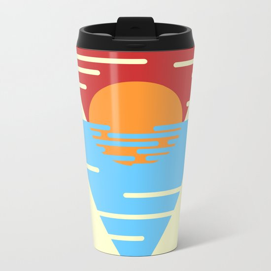 Sunrise Metal Travel Mug