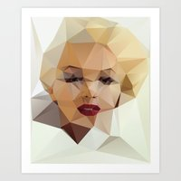 play Art Prints featuring Monroe. by David