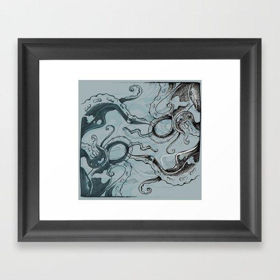 Even .. More .. TentacleS ..  Framed Art Print