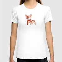 frenchie T-shirts featuring Frenchie by 52 Dogs