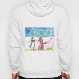 Alice and the Queen Hoody