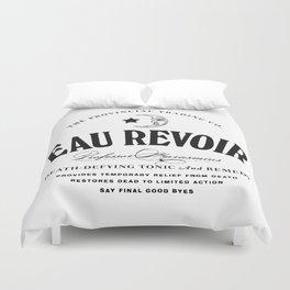 Eau Revoir Duvet Cover