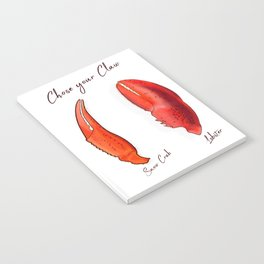 Chose your Claw, Crab vs Lobster Notebook