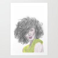 Nancy Art Print