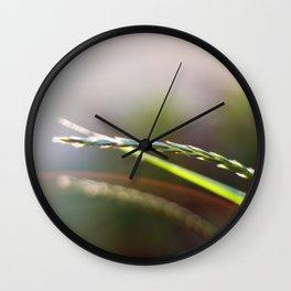 Evening Light Wall Clock