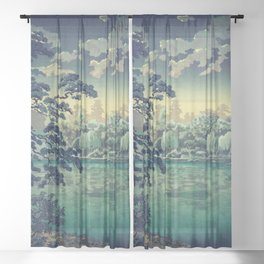At Yasa Bay Sheer Curtain