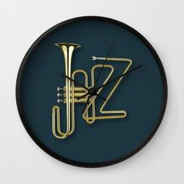 Virtuous Jazz Wall Clock
