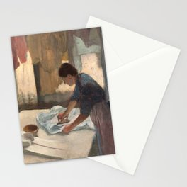 Edgar Degas, Woman Ironing, 1887 Stationery Cards